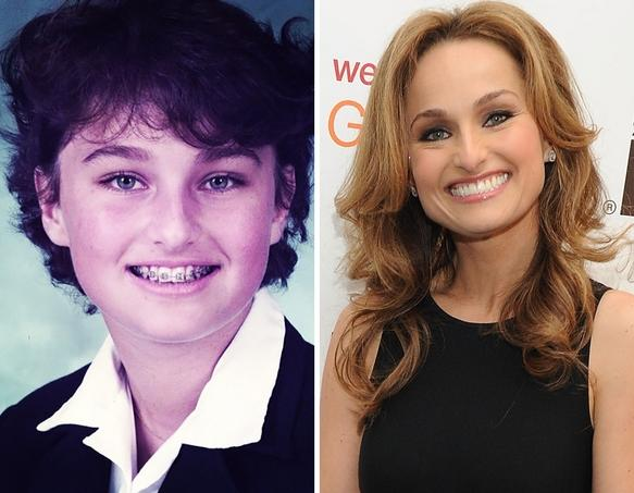 Giada De Laurentiis as a Kid