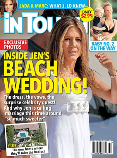 Jennifer Aniston Wedding Scoop!