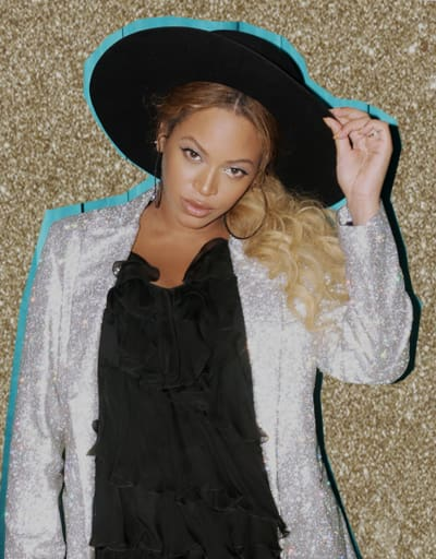 Beyonce Flashback Photo