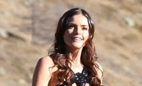 Courtney Robertson Bachelor Finale Dress
