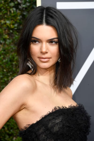 Kendall Jenner, Acne at the Golden Globes
