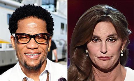 D.L. Hughley Slams Caitlyn Jenner: Whan an Ugly Mrs. Doubtfire!