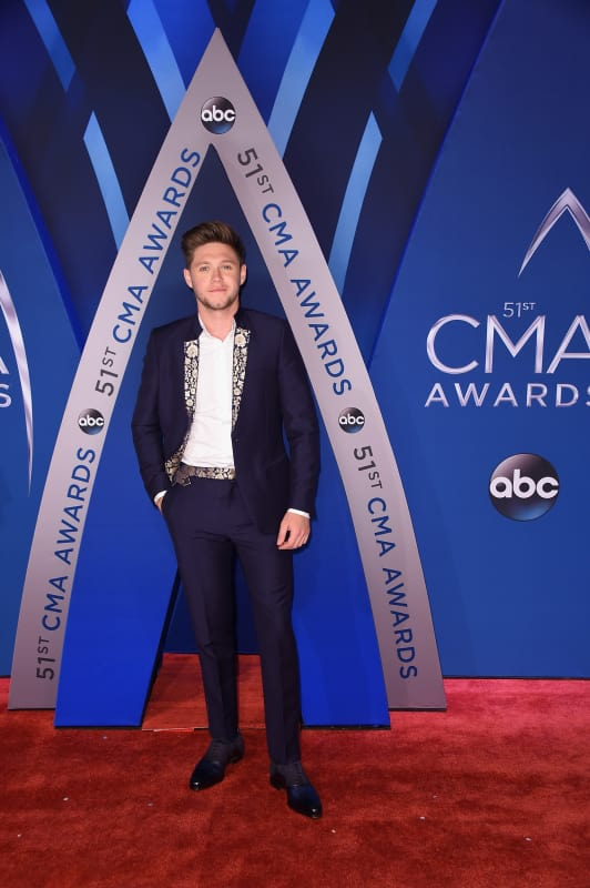 Niall horan at cmas