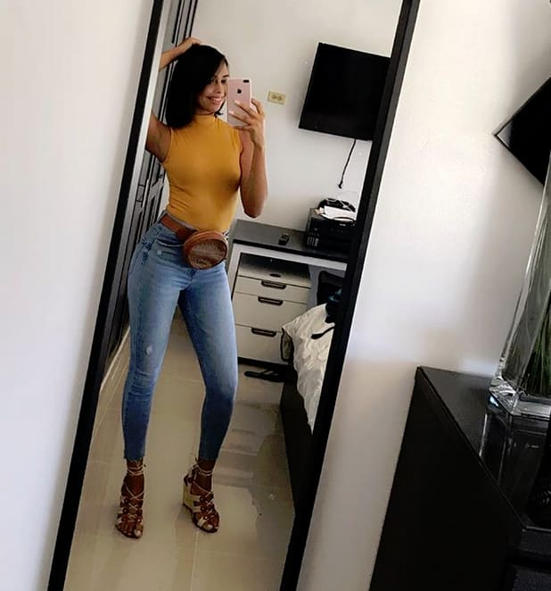 Nicole jimeno snaps a mirror selfie