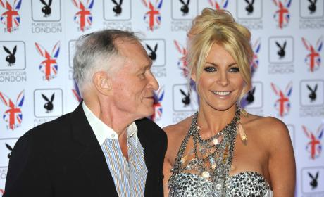 Crystal Harris and Hugh Hefner Image