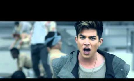 """Adam Lambert - """"Never Close Our Eyes"""" (Official Music Video)"""