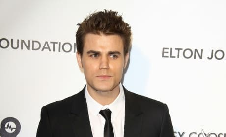 Paul Wesley Oscar Party Pic