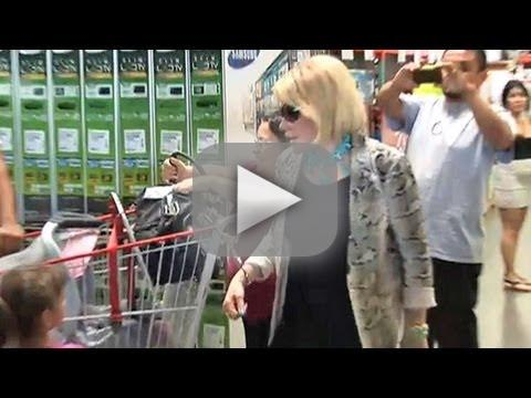 Joan's One-Woman Costco Protest