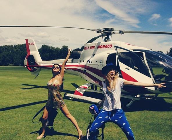 Selena Gomez and Cara Delevingne Image