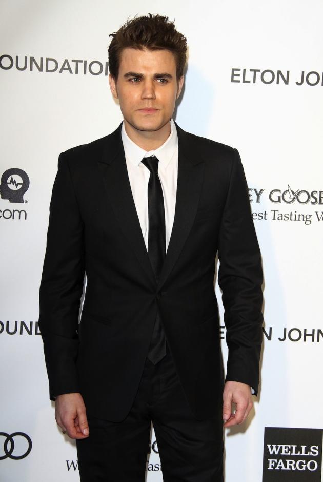 Paul Wesley Oscar Party Pic