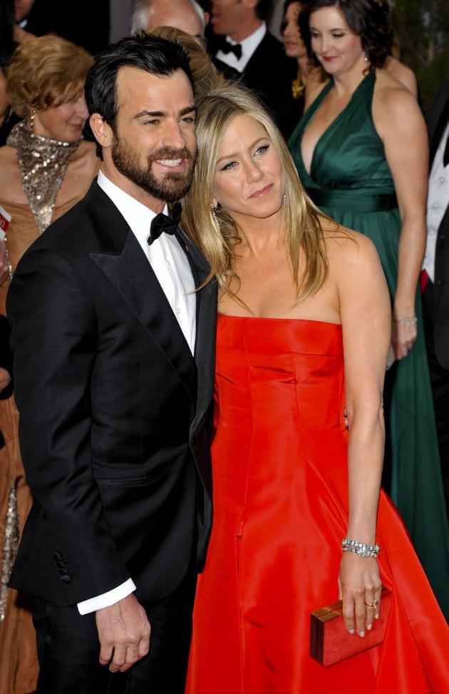 Justin Theroux, Jennifer Aniston Photograph