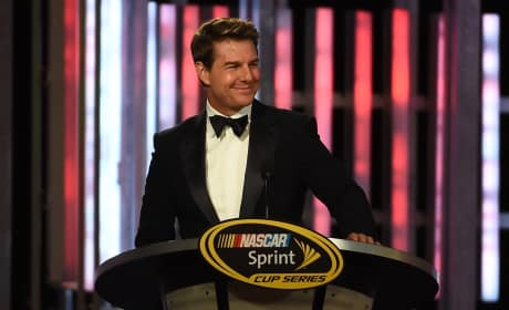 Tom Cruise: 2015 NASCAR Sprint Cup Series Awards