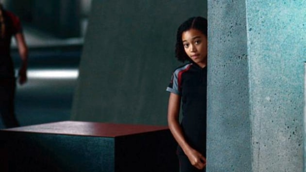 Rue in The Hunger Games