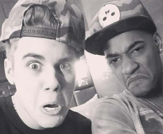Justin Bieber and Lil Za