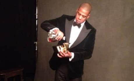 Jay-Z Grammys Photo