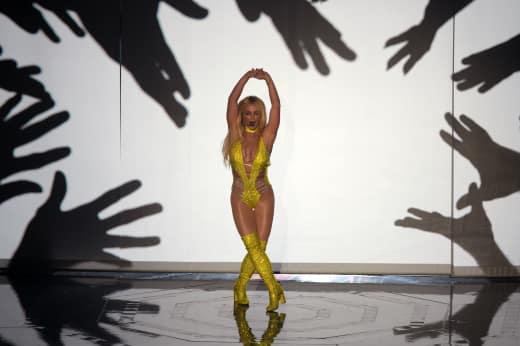 Britney Spears VMA Performance Photo