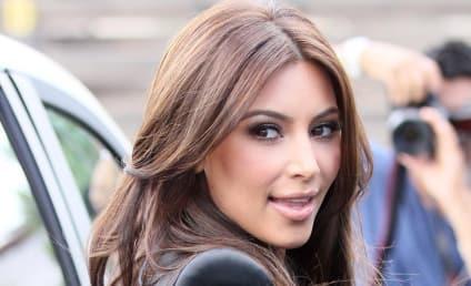 Kim Kardashian Lightens Up