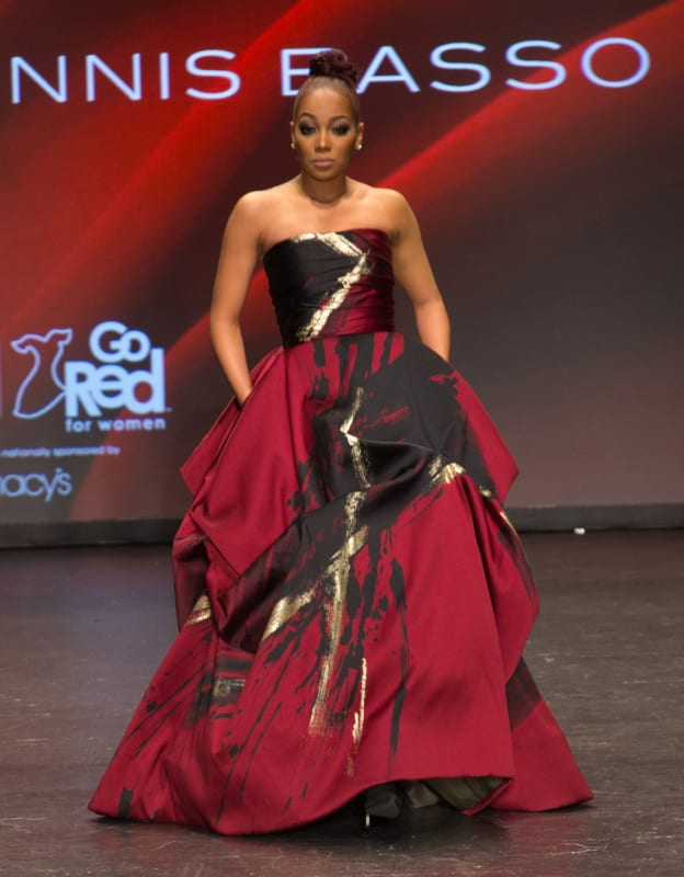 Monica: American Heart Association's Go Red For Women Red Dress Collection 2016