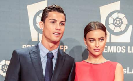 Irina Shayk and Cristiano Ronaldo Image