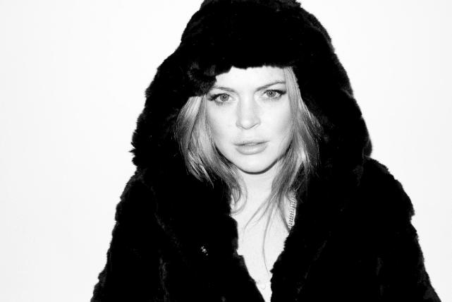 Lindsay Lohan Poses For Terry Richardson