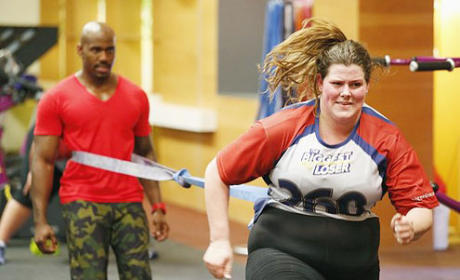 Rachel Frederickson on The Biggest Loser