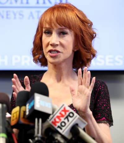 Kathy Griffin Press Conference Pic
