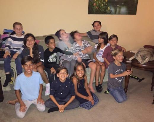 natalie Suleman, Group Photo Fail