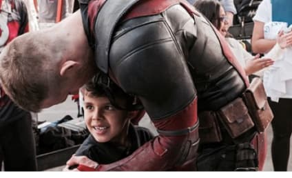 Ryan Reynolds Fulfills Wish of Boy Battling Cancer