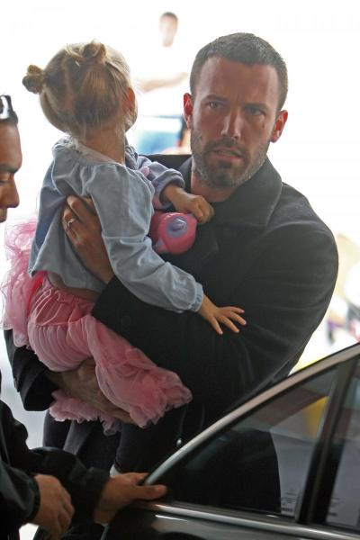 Ben Affleck and daughter, Violet
