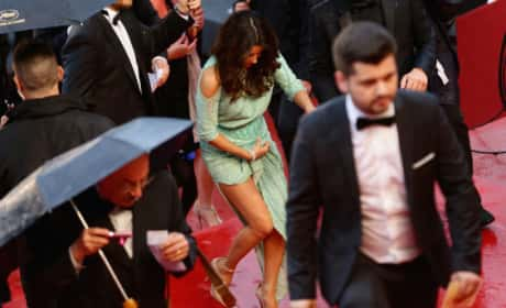Eva Longoria Wardrobe Malfunction Photo