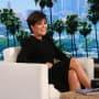 Kris Jenner on Ellen