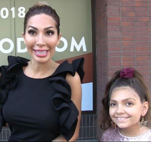 Farrah and Sophia Pic