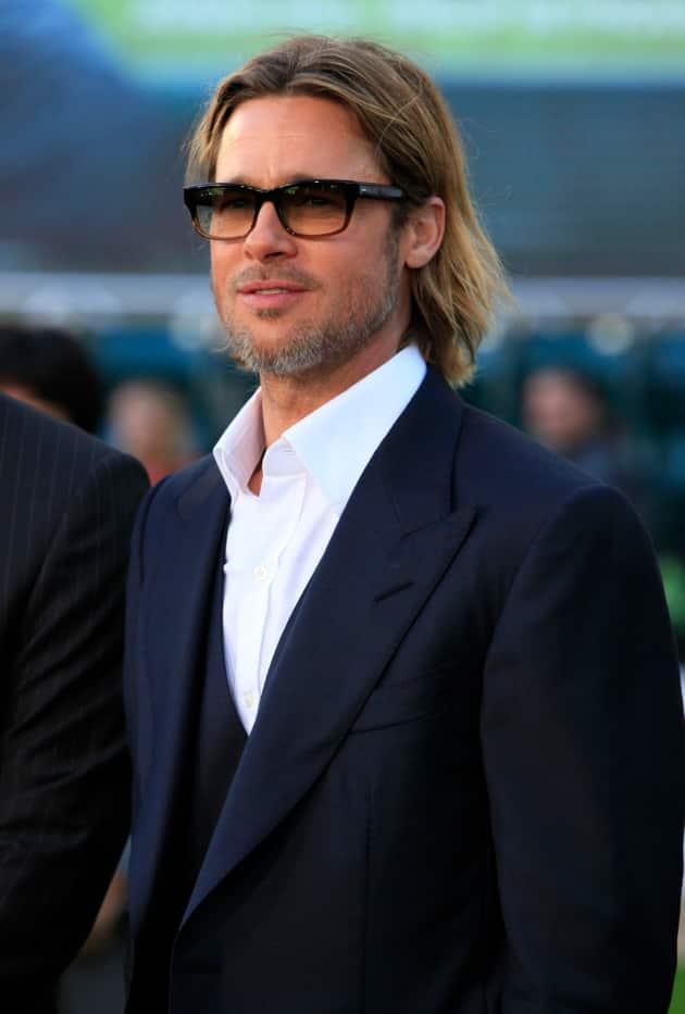 Brad Pitt Premiere Pic