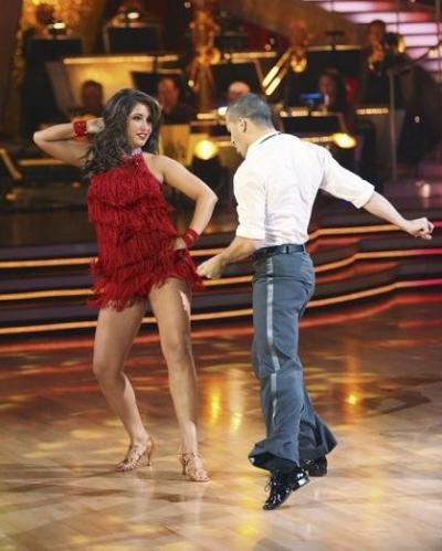 Mark Ballas and Bristol Palin