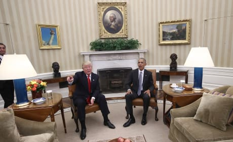 In the Oval Office