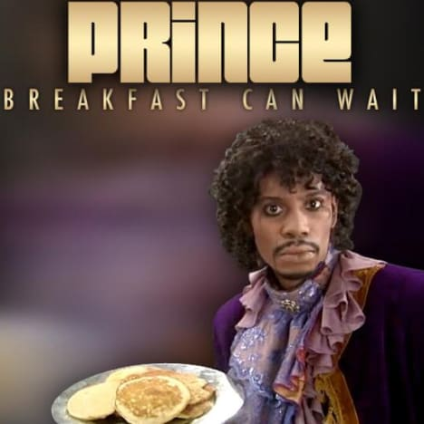 """Prince """"Breakfast Can Wait"""" Cover"""