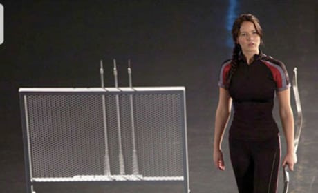 Katniss in Training