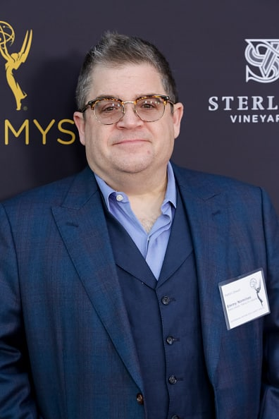 Patton oswald attends cocktail reception for the television acad