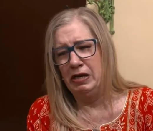 Jenny Slatten Cries in Distress