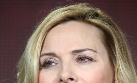 Kim Cattrall Face