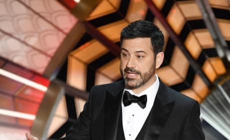 Jimmy Kimmel at the Oscas