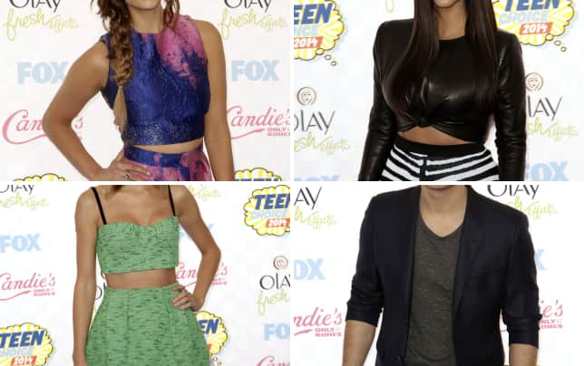 Nina dobrev at the 2014 teen choice awards