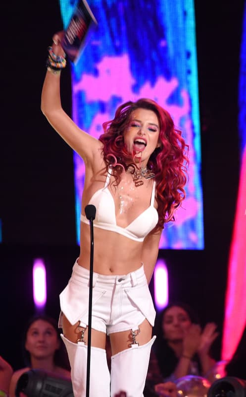 Bella thorne on stage