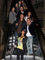 The Cast in L.A.