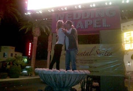 Brandi Glanville and Darin Harvey