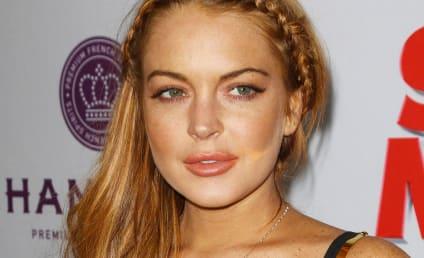 Lindsay Lohan Denies Doing Drugs, Drinking at Coachella