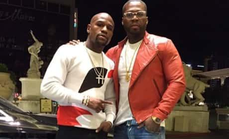 Floyd Mayweather-50 Cent Photo