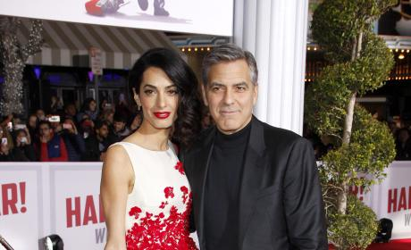 George and Amal Clooney and More: Star Sightings 2.2.16