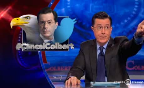 Stephen Colbert Responds to Cancelation Talk