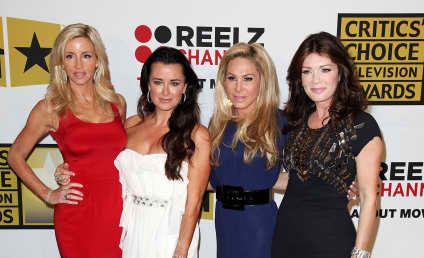 The Real Housewives of Beverly Hills Gang Up on Kelsey Grammer